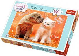 Állatos puzzle-100db
