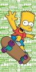 Simpson család törölköző
