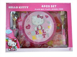 Hello Kitty étkészlet szett - 4 részes