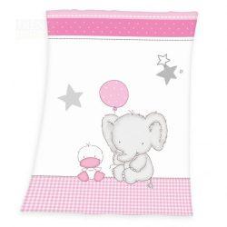 Elefánt baba pléd