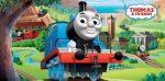 Thomas a gőzmozdony strand törölköző