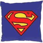Superman mintás díszpárna