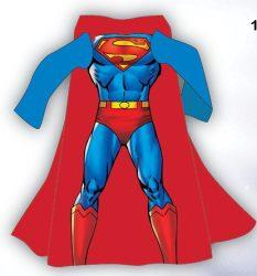 Superman ujjas takaró