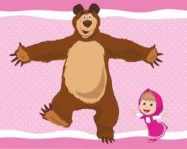 Mása és a medve polár takaró