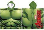 Bosszúállók Hulk strand törölköző poncsó