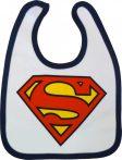 Superman baba előke fehér