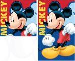 Mickey egér kéztörlő, arctörlő szett