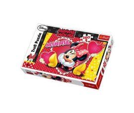 Minnie egér puzzle-160db