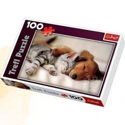 Kutyás puzzle 160db-os